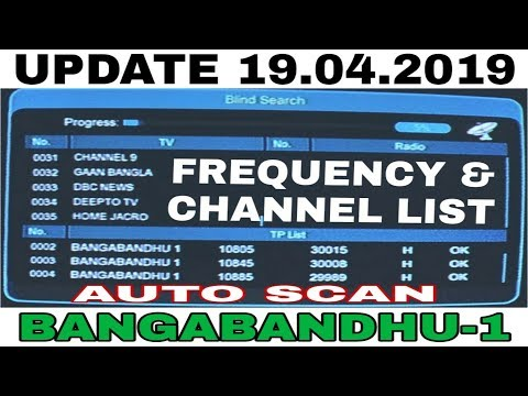 Bangabandhu 1 Channel List 2019 - Dth Tv Guide