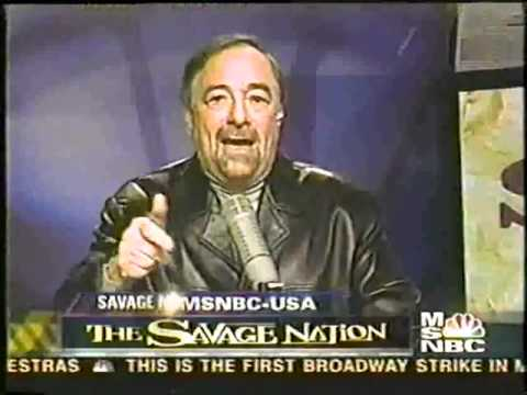 The Savage Nation Television Series MSNBC (Episode 1) 2003 Show