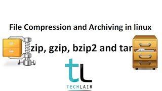 File Compression and Archiving with zip, gzip, bzip2 and tar : Linux Commands