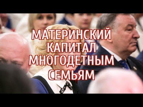 Яровая предложила ввести еще один маткапитал в России