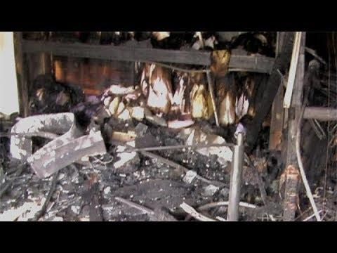 आगीत लॉंड्री खाक, खोरी गल्लीतील दीपक ड्रायक्लिनर्सवर संकट