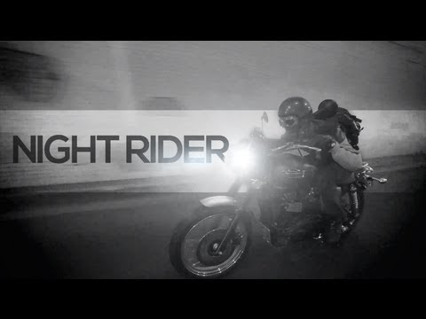 Night Rider - Triumph Scrambler - MotoGeo Adventures