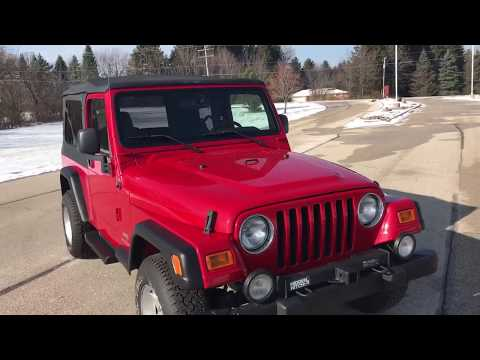2004 Jeep® Wrangler Unlimited in Big Bend, Wisconsin - Video 1