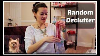 DECLUTTER:  Random Items