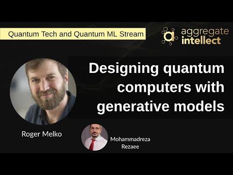 Designing quantum computers with generative models