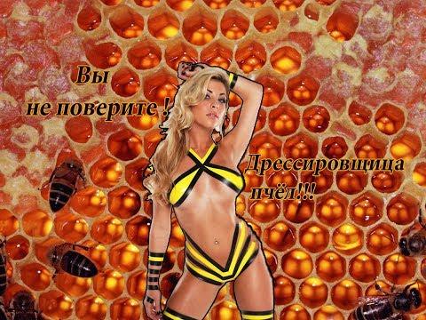 Пчеловодство. Вы не поверите! Укротительница пчёл! А вам слабо. Этого не может быть!
