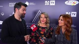 Юлия Ковальчук и Алексей Чумаков на премии «Brand Awards 2018»