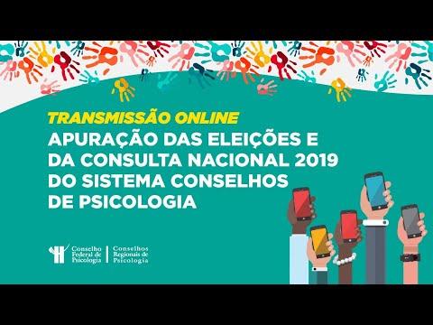 Eleições 2019: Apuração das eleições e da consulta nacional do Sistema Conselhos de Psicologia