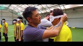 Футбольный клуб «Кайрат» в проекте «Blind Football»
