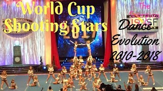 World Cup Shooting Stars Dance Evolution 2010-2018
