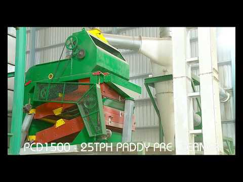 Paddy Pre Cleaner Double Deck