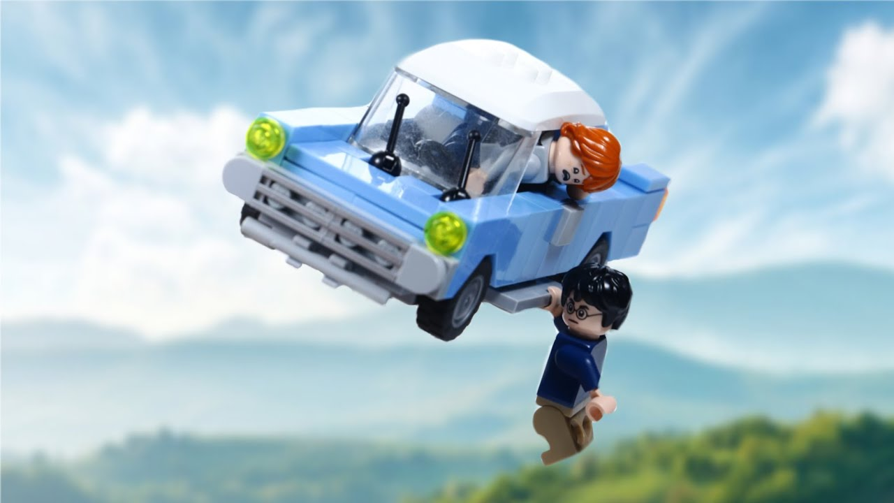 LEGO Ron Weasley's FLYING CAR from HARRY POTTER