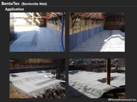 Bentonite Waterproofing System - BentoSheet ( 1 roll is 9m2)