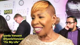 Aisha Tyler and Iyanla Vanzant Responds to Wale at the 48th Annual NAACP Image Awards