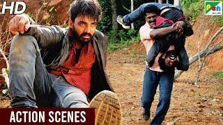 Dushman Zamana - Superhit Action Scenes | Hindi Dubbed Movie | Maruthi Vasanthan, Mrudhula Basker