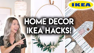 DIY IKEA HACKS | AFFORDABLE HOME DECOR IDEAS 2020