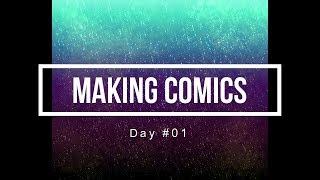 100 Days of Making Comics Day 01
