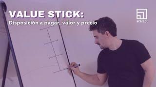 Value Stick: disposición a pagar, valor y precio