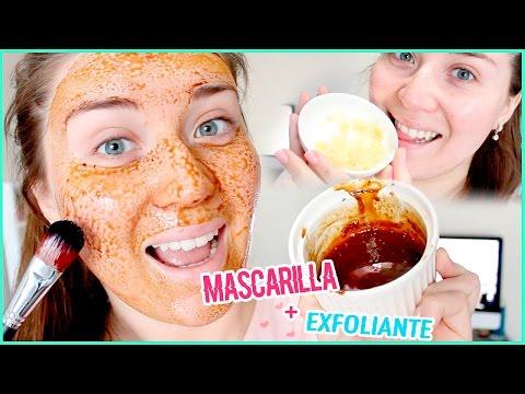 MASCARILLA Y EXFOLIANTE CASERO! ♥