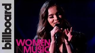 Hailee Steinfeld 'Starving' Live Acoustic Performance | Billboard Women in Music 2016