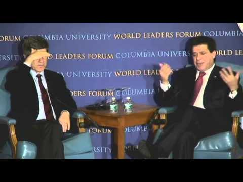 World Leaders Forum: Horacio Cartes, President of the Republic of Paraguay