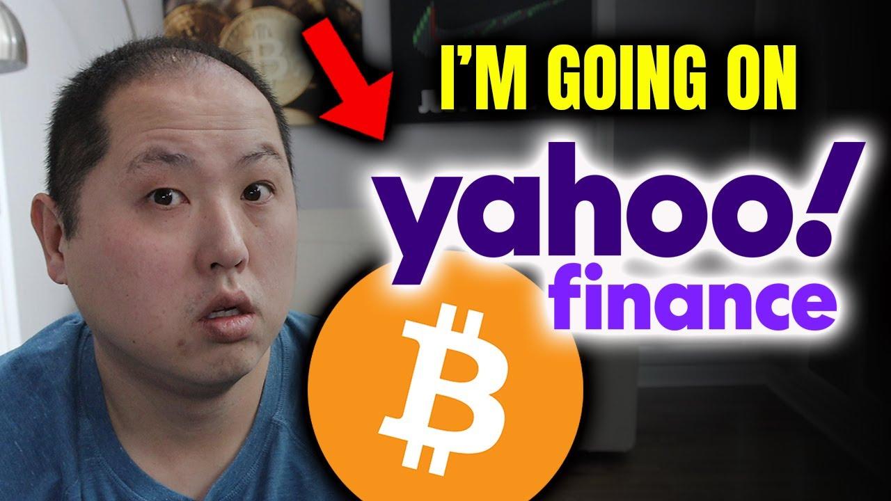 I'M HAPPENING YAHOO FINANCING TO TALK BITCOIN & CRYPTO ... thumbnail