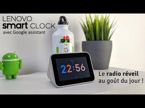 Le radio réveil qui va plus loin test du Smart Clock de Lenovo (Exclu)