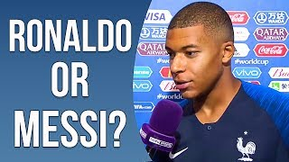 Cristiano Ronaldo Or Lionel Messi? - Famous Footballers Argue