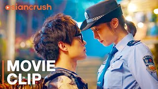 I have to arrest my crush to get his attention | Clip from 'I Belonged to You' with Yang Yang