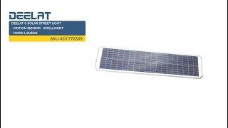 Solar Street Light - Motion Sensor - Intelligent - 10000 Lumens SKU #D1776389