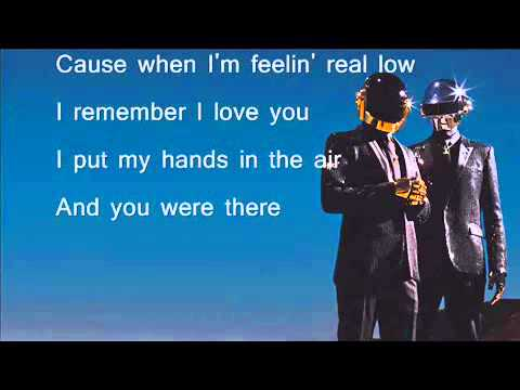 Paroles Gust of Wind - Pharrell Williams ft Daft Punk