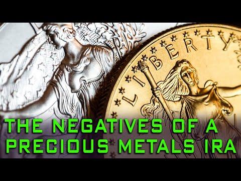 Negatives Of Precious Metals IRAs