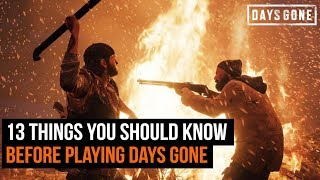 13 Things You Should Know Before Playing Days Gone