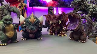 Xplus Deforeal Spacegodzilla figure unboxing and review!! First on YouTube!!