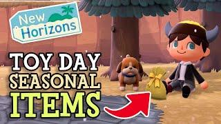 Animal Crossing New Horizons: NEW CHRISTMAS TOY SET REVEALED (51 Seasonal Items - Winter Update)