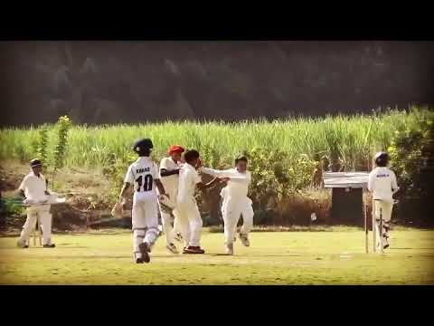 Angad thakur(millennium national school- Cricket next academy) took wicket on leg spin bowling