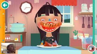Детская игра Toca Kitchen 2.Делаю  разные напитки и еду.