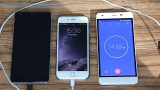 Ulefone Power OTG Charge Test with iPhone 6