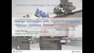 Webinar: Design Validation with Digital Prototyping