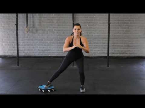 Lateral To Backward Lunge