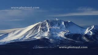 浅間山の動画素材, 4K写真素材