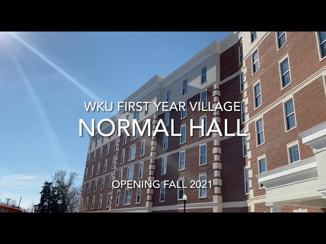 WKU Normal Hall Update | First Year Village | January 2021 Video Preview