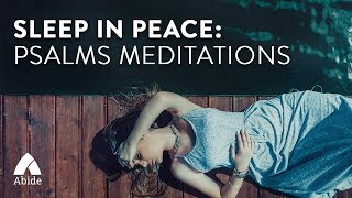 Guided Christian Meditation: Book of Psalms, Sleep in peace