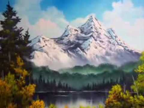Bob Ross Inspired Oil Paintings By Darren Mcgrath Paintings