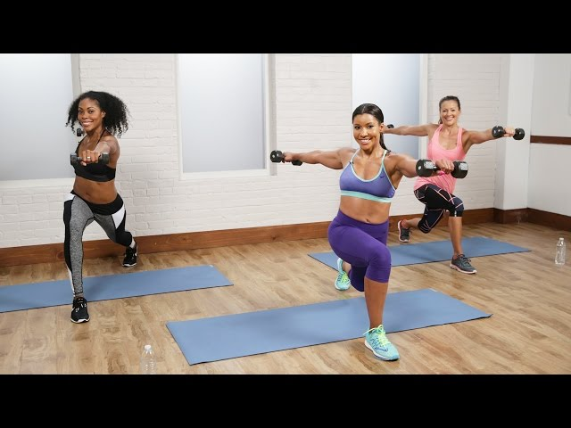 30-Minute Fat-Burning Cardio Sculpt Workout With The Hollywood Trainer Jeanette Jenkins