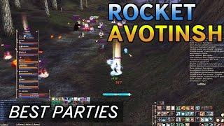 MOST EPIC BATTLE EVER! Avotinsh vs Rocket - Top Parties Lineage 2 Classic