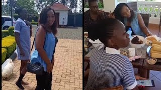 Akothee Hangs Out With Betty Kyalo
