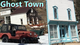 Abandoned Ghost Town - Silver Plume Colorado