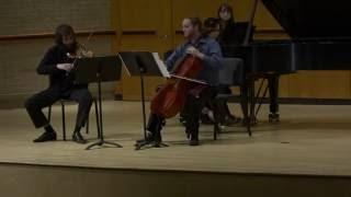A. Piazzolla - Verano Porteño (Piano Trio)