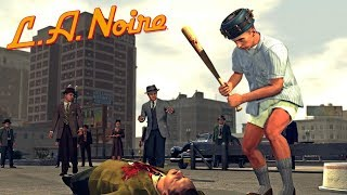 LA Noire Remastered - All Street Crimes (Traffic Desk)